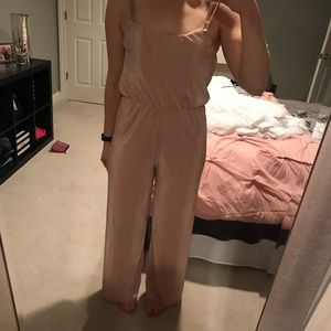 NWT pink jumpsuit